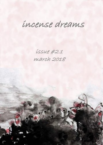 incense dreams JOURNAL - issue 2.1 - SILENCE