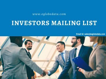 Investors Mailing List