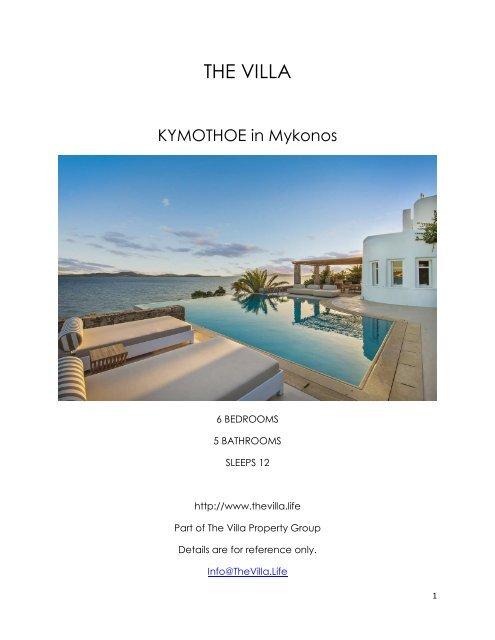 Kymothoe - Mykonos
