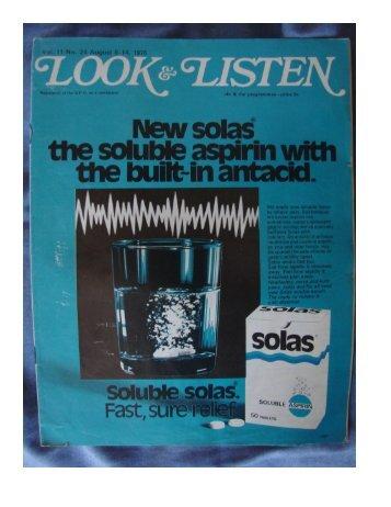 Rhodesia Look and Listen weekly mag -- 1976