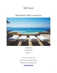 The Eagle's Nest - Mykonos