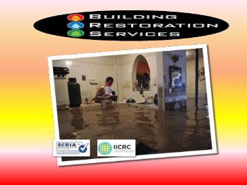 Water Damage Restoration Melbourne