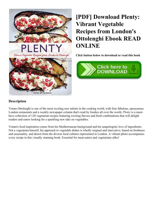 Vegetarian Recipes Ebook