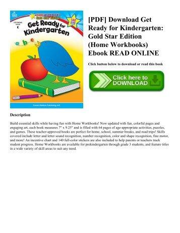 [PDF] Download Get Ready for Kindergarten: Gold Star Edition (Home Workbooks) Ebook READ ONLINE