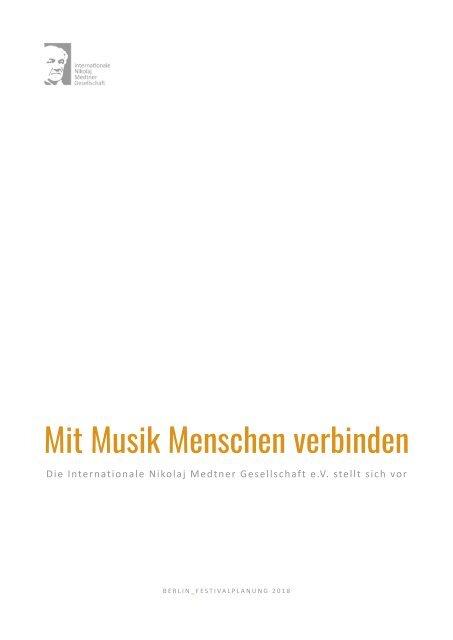 Medtner Gesellschaft PDF-Info-Broschüre
