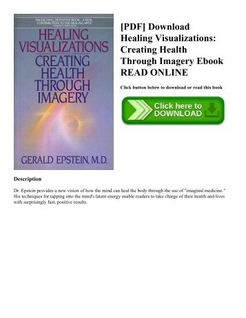 Pdf download healing from hidden abuse a journey through the pdf download healing visualizations creating health through imagery ebook read online fandeluxe Gallery