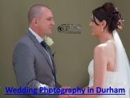 Wedding Photography in Durham