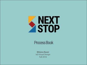 NextStop Process Book