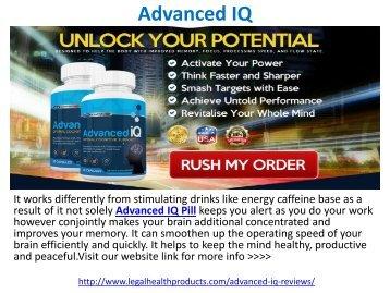Advanced IQ Pill Reviews