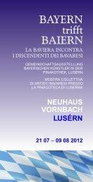 vornbach neuhaus lusérn - Centro Documentazione Luserna