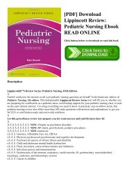 555-Lippincott's Review for Medical-Surgical Nursing