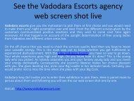 Vadodara escorts services in Gujarat - screen shot