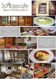 Schlosscafe Restaurant, Konditorei, Café in Beuren