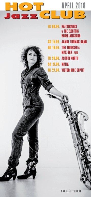 Hot Jazz Club - April 2018