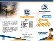 Brochure Semana Santa 2018