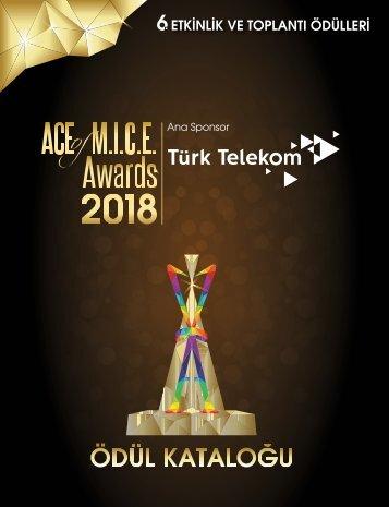 Ace Of Mice Awards 2018 Ödül Kataloğu