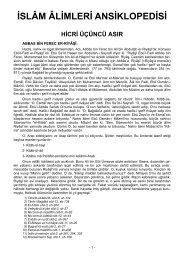İslam Alimleri Ansiklopedisi 3
