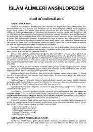 İslam Alimleri Ansiklopedisi 4