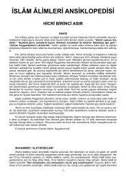 İslam Alimleri Ansiklopedisi 1