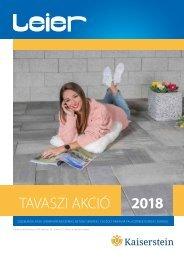 Leier Tavaszi Akció 2018