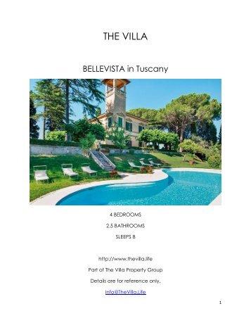Bellevista - Tuscany