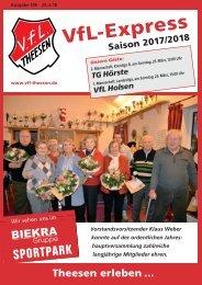 A4 Saisonheft Theesen!  17-18- Ausgabe 146 Holsen