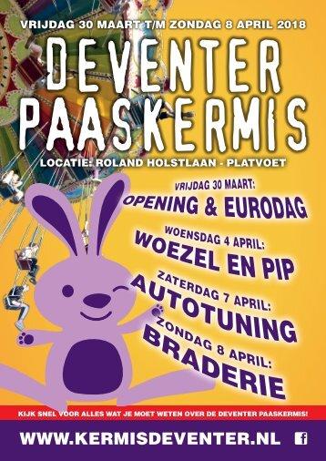 Kermiskrant Paaskermis Deventer 2018