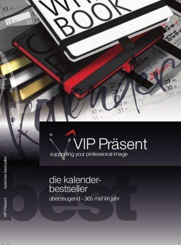 VIP die Kalender bestseller