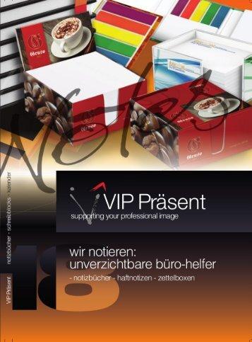 VIP - wir notieren