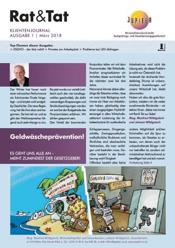 Rat & Tat - Klienten-Info / Ausgabe 1/2018