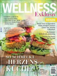 WELLNESS Magazin Exklusiv - Frühling 2018