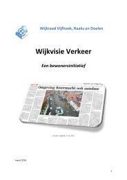 Wijkvisie verkeer