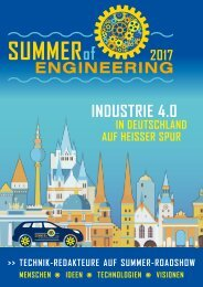 SUMMER of ENGINEERING 2017
