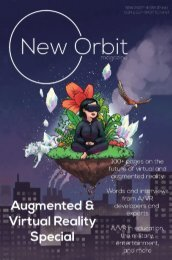 New Orbit Magazine Online: Issue 02, February 2018 - AR/VR Special