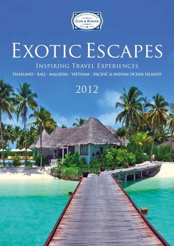 Exotic EscApEs - Cox and Kings