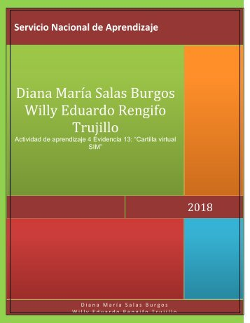 Diana Maria Salas Burgos Willy Eduardo Rengifo Trujillo