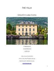 Gallio - Lake Como