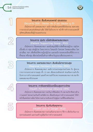 9 โครงการโดยแพทยสมาคมฯ