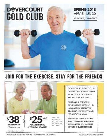 Dovercourt Spring 2018 Gold club