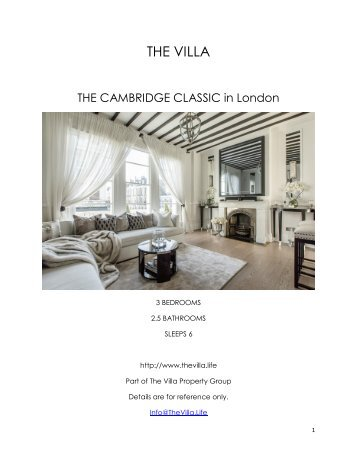 The Cambridge Classic - London