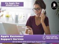 Fix Apple Mac SMART Error