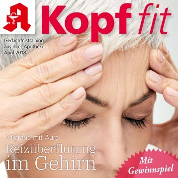 "Leseprobe ""Kopf-fit"" April 2018"