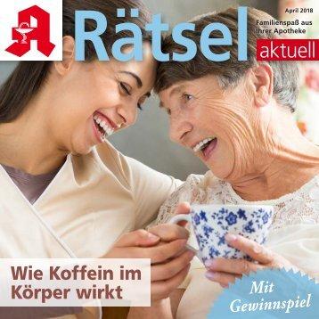 """Leseprobe """"Rätsel-aktuell"""" April 2018"""