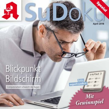 "Leseprobe ""Sudoku-spezial"" April 2018"