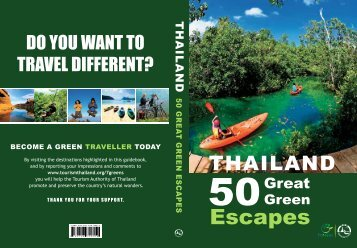 50 Great Green Escape - Tourism Authority of Thailand