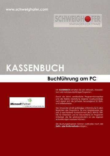 KASSENBUCH - SCHWEIGHOFER Manager