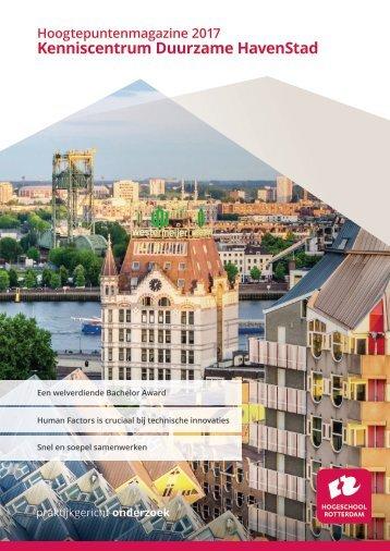 Hoogtepunten Kenniscentrum DuurzameHavenstad 2017