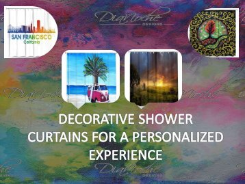 Decorative Shower Curtains for a Personalized Experience