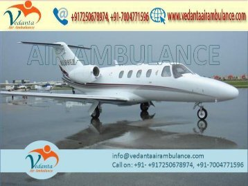 Vedanta Air Ambulance from Ahmedabad to Delhi with full ICU setup