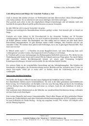 Neuhaus a. Inn, im Dezember 2006 Liebe ... - Landkreis Passau